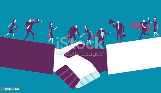 istock Shake Hand 618049200