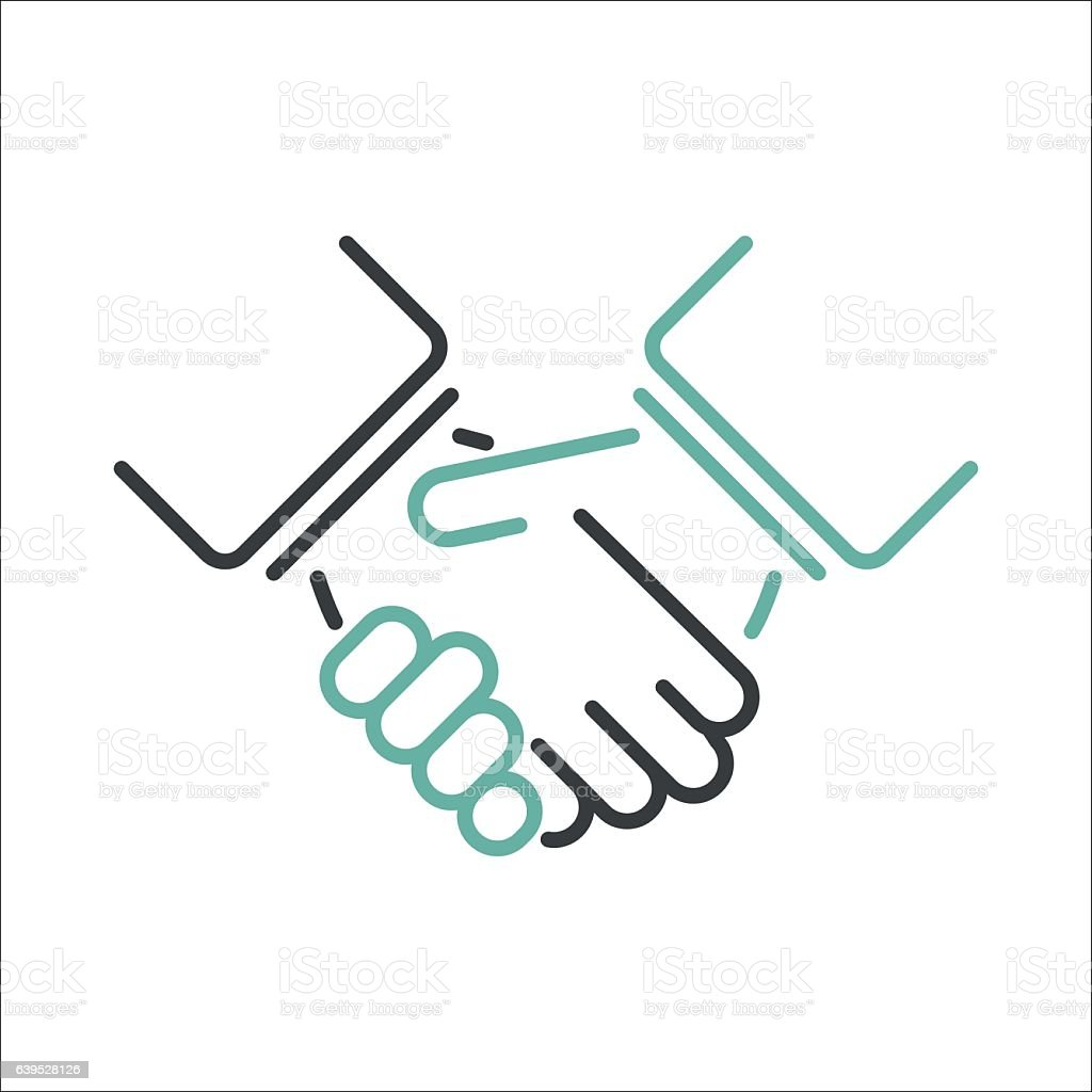 shaking hands vector stock vector art more images of adult rh istockphoto com shaking hands vector free download shaking hands vector free