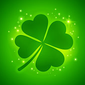Shamrock Four Leaf Luck Clover