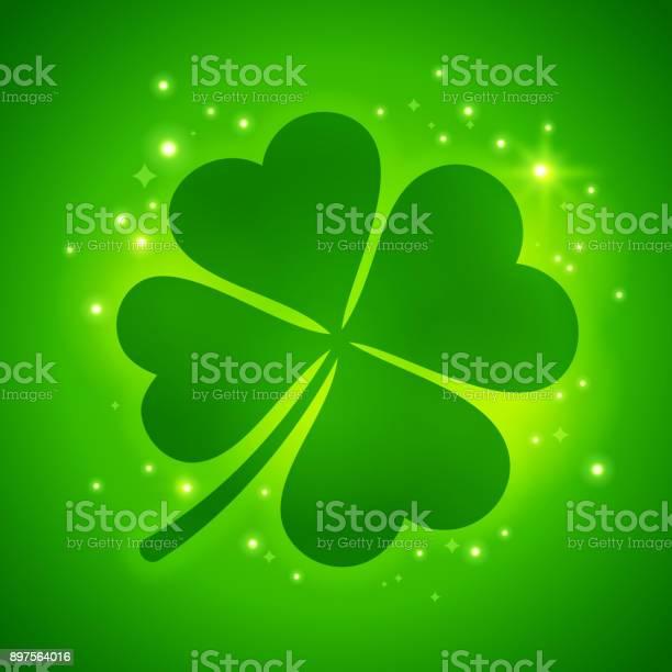 Shamrock four leaf luck clover vector id897564016?b=1&k=6&m=897564016&s=612x612&h=sz1ikjw8r9 9zlojgw5ik1lo9mn9lcdysmexajtfe0w=