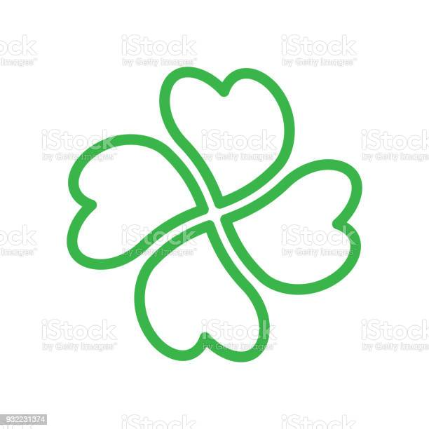 Shamrock green four leaf clover icon good luck theme design element vector id932231374?b=1&k=6&m=932231374&s=612x612&h=hx hrirm7hdqwh5sbjqzip6sbsxv0gxvblxu y10se4=
