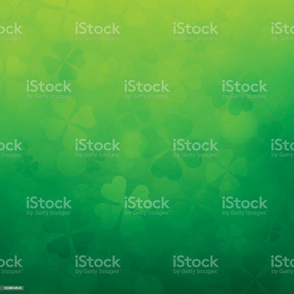 Shamrock St. Patrick's Day Background