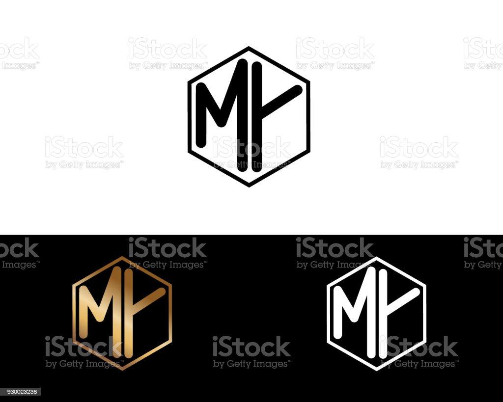 Meine Form Briefe Design Stock Vektor Art Und Mehr Bilder Von