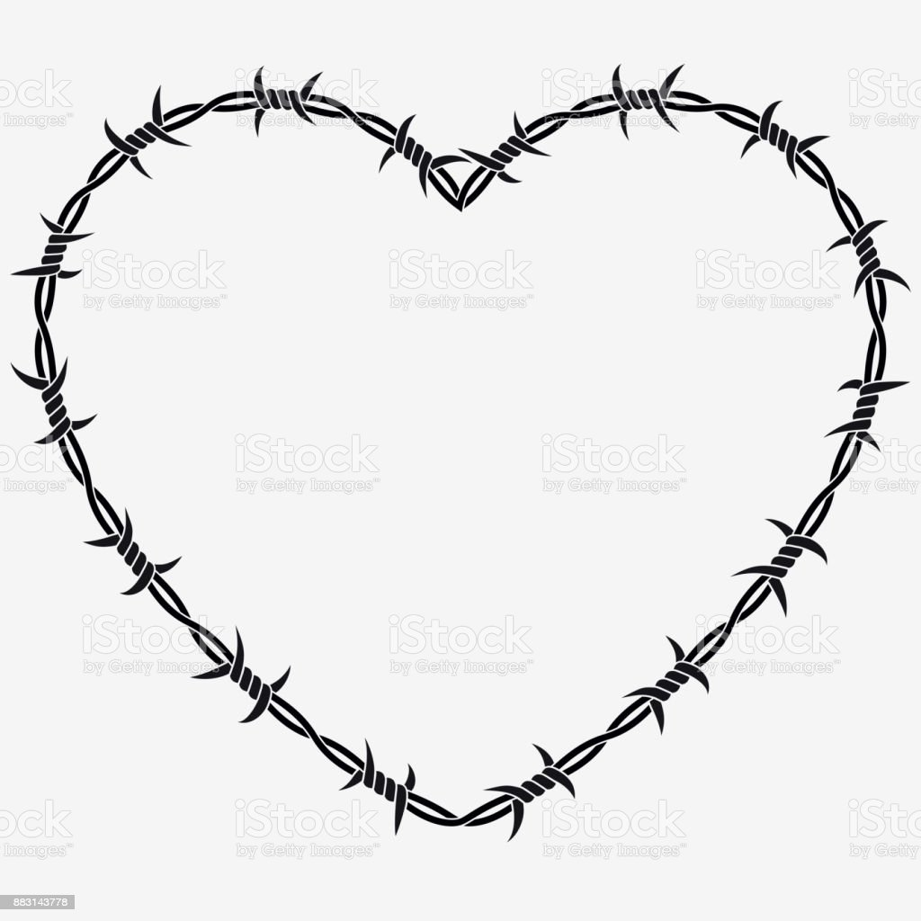 Fine Wire Heart Art Picture Collection - Simple Wiring Diagram ...