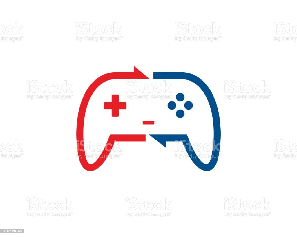 Share Game Symbol Template Design Vector Emblem Design Concept - Game concept template
