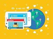 Share video publish