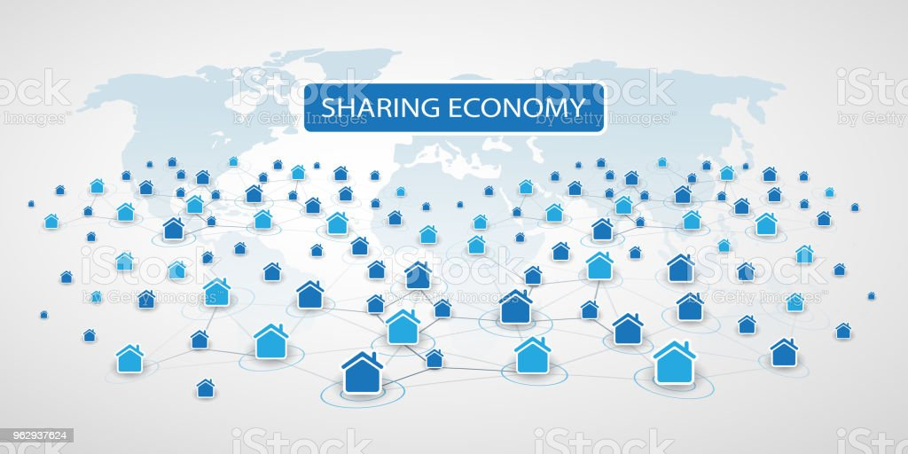 Sharing Economy Home Renting Peer To Peer Accommodation Or