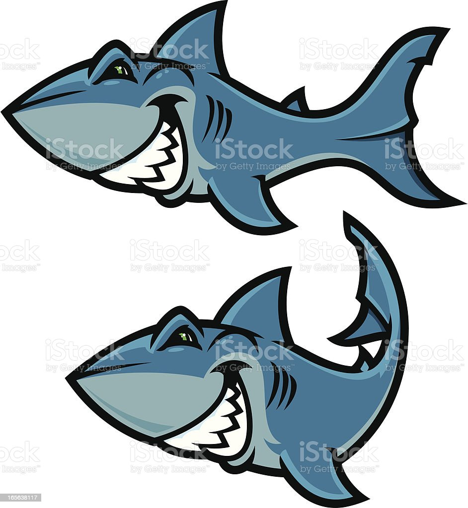 Shark Attack III royalty-free shark attack iii stock vector art & more images of aggression