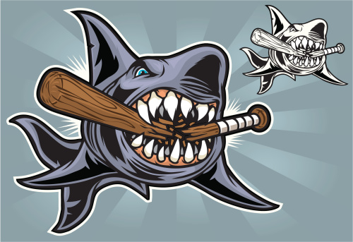 Shark Bite Baseball