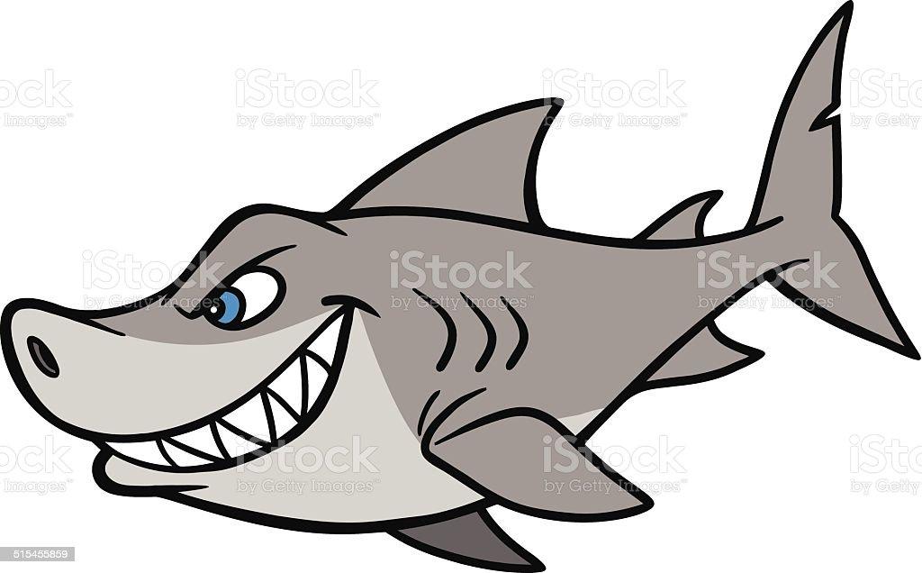 Dessin anim de requin cliparts vectoriels et plus d - Modele dessin requin ...