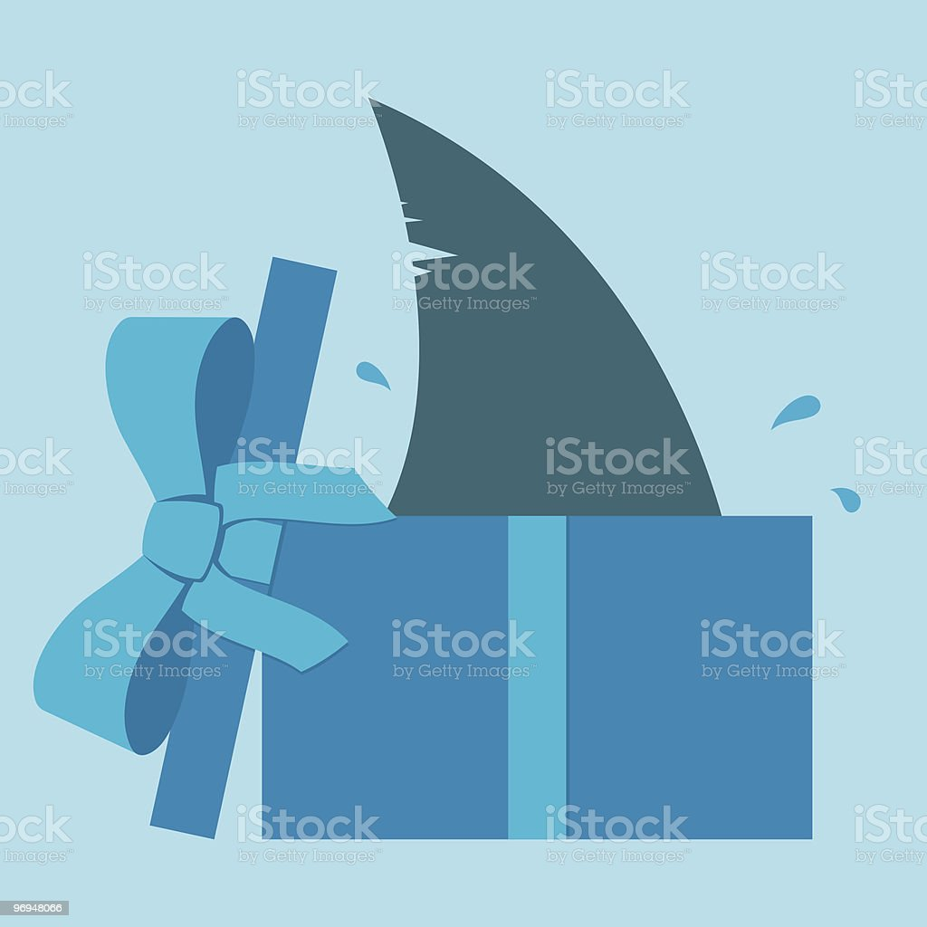 Shark fin in parcel royalty-free shark fin in parcel stock vector art & more images of animal