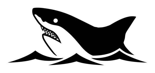 Royalty Free Shark Jaws Clip Art, Vector Images ...
