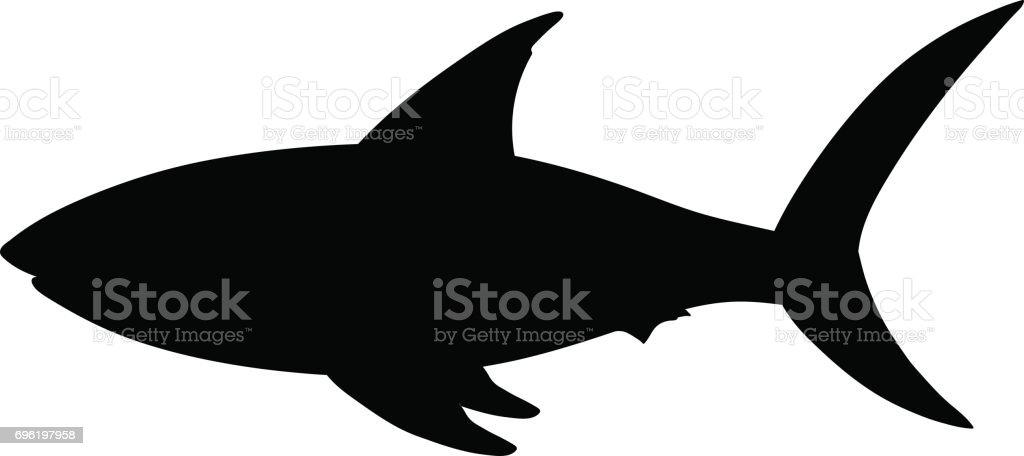 82bfcb75e5924 Animal, Fish, Saltwater Fish, Shark, Tattoo. Shark silhouette royalty-free  ...