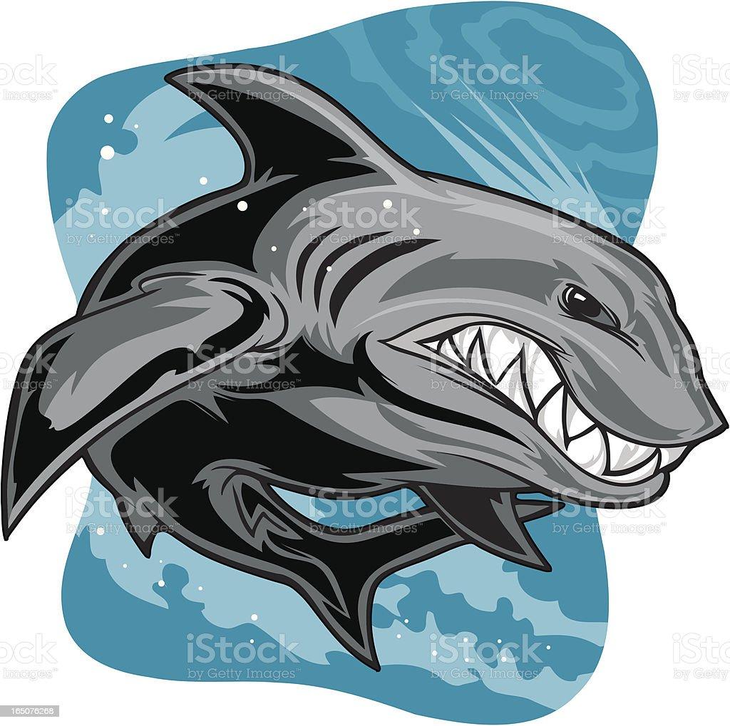 Shark Swim royalty-free shark swim stock vector art & more images of aggression