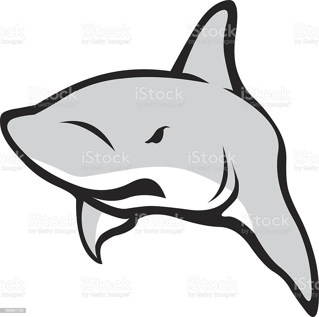 shark vector art illustration
