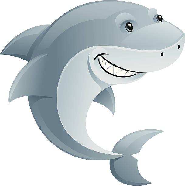 Royalty Free Cute Shark Clipart Clip Art, Vector Images ...