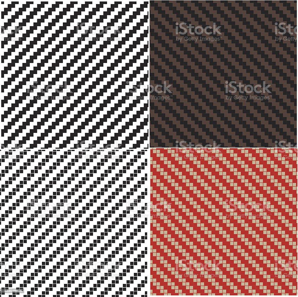 Sharkskin seamless pattern royalty-free stock vector art