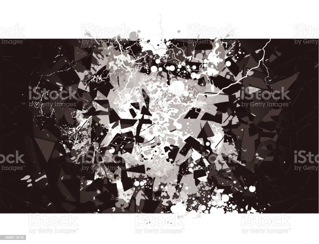 Shattering Glasses royalty-free shattering glasses stock vector art & more images of activity