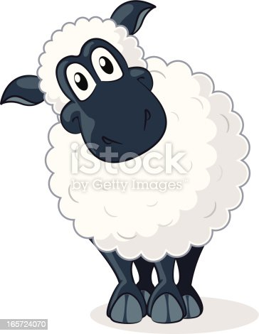 Sheep cartoon stock vector art more images of animal - Image mouton humoristique ...