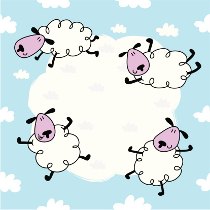 Sheep & Cloud Pattern