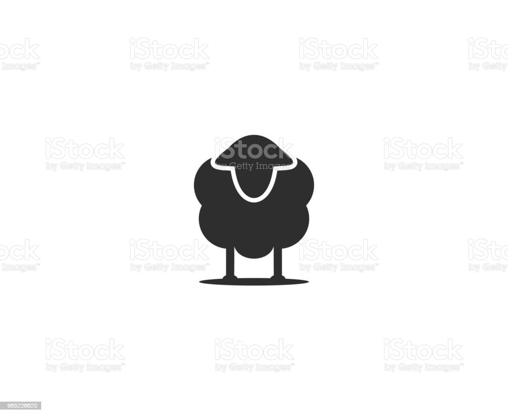 Sheep icon royalty-free sheep icon stock vector art & more images of animal
