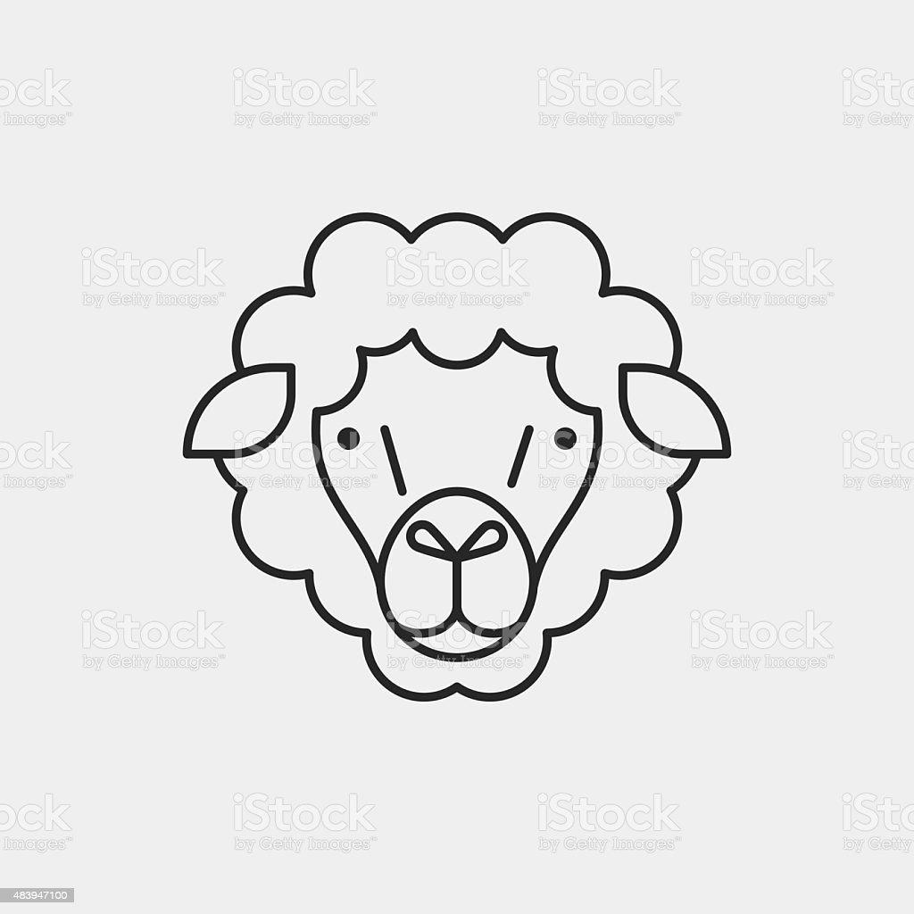 羊ラインのアイコン 15年のベクターアート素材や画像を多数ご用意 Istock