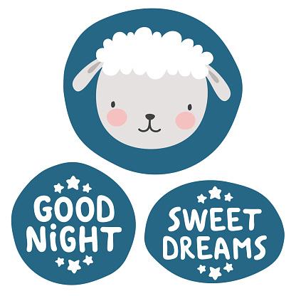 Sheep sticker