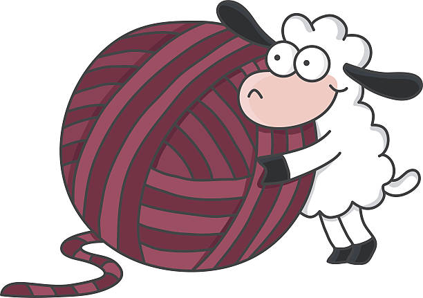Best Sheep Wool Illustrations, Royalty-Free Vector ...