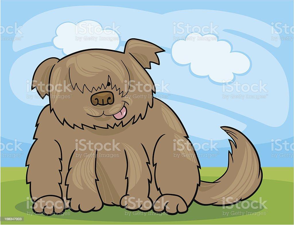 Sheepdog shaggy dog cartoon illustration royalty-free sheepdog shaggy dog cartoon illustration stock vector art & more images of animal