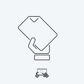 Sheet concept - Thin icon