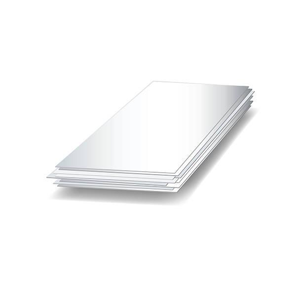 sheet steel icon - aluminum foil roll stock illustrations, clip art, cartoons, & icons