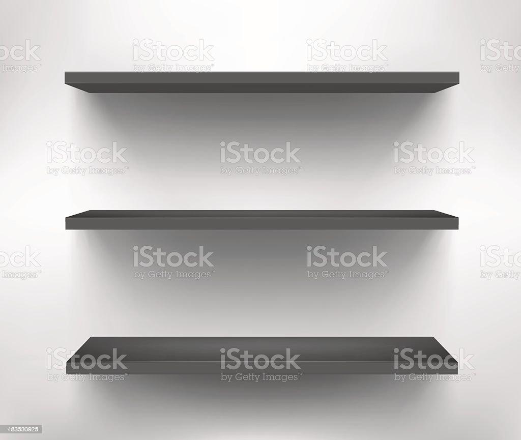 Shelf royalty-free stock vector art