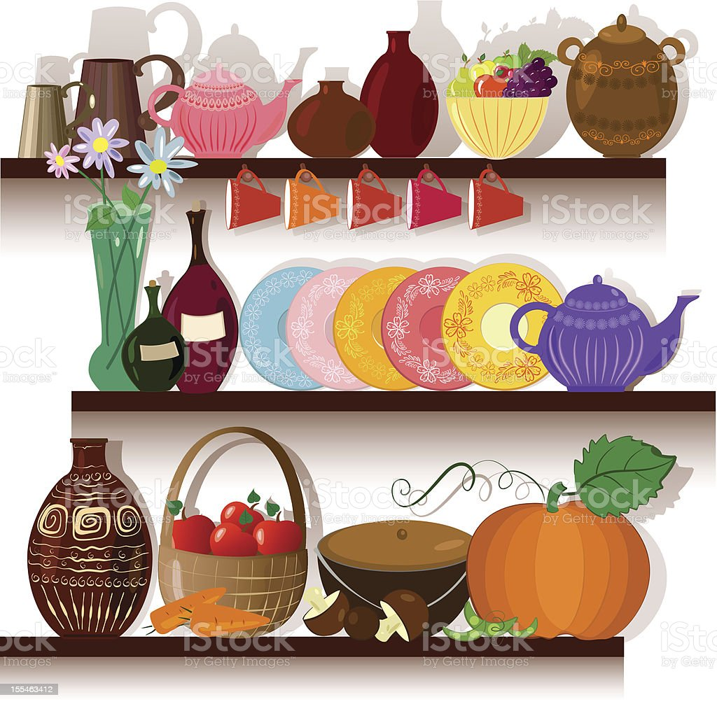 Shelf ware royalty-free shelf ware stock vector art & more images of alcohol