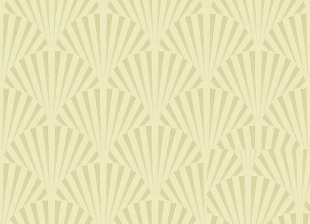 shell pattern - scallop stock illustrations, clip art, cartoons, & icons