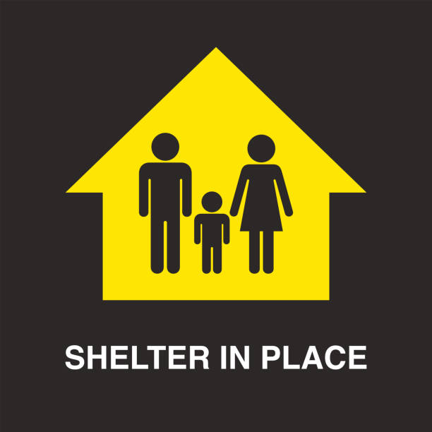 Shelter In Place Illustrations, Royalty-Free Vector Graphics ...