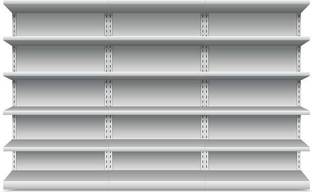 regale - kastenständer stock-grafiken, -clipart, -cartoons und -symbole