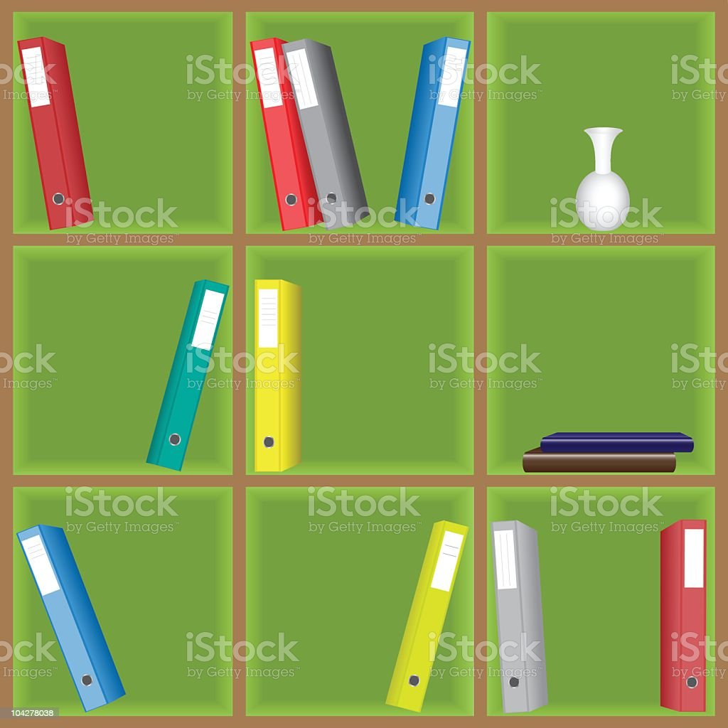 Shelving unit royalty-free shelving unit stock vector art & more images of archival
