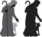 Shepherd Silhouette