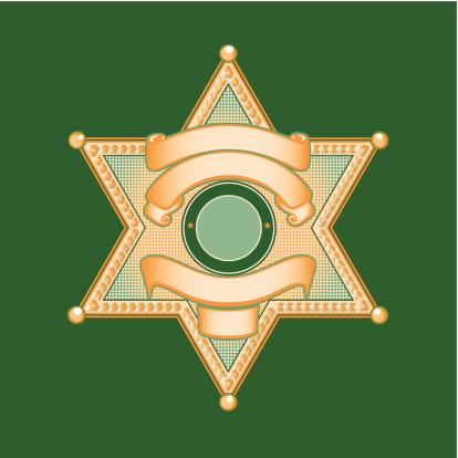 Sheriff or Police Badge