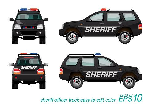 sheriff SUV car