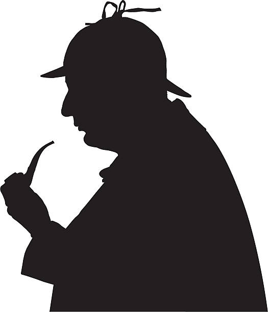 Sherlock Holmes Paper Deerstalker Hat Template on Behance   Deerstalker hat,  Deerstalker, Hat template