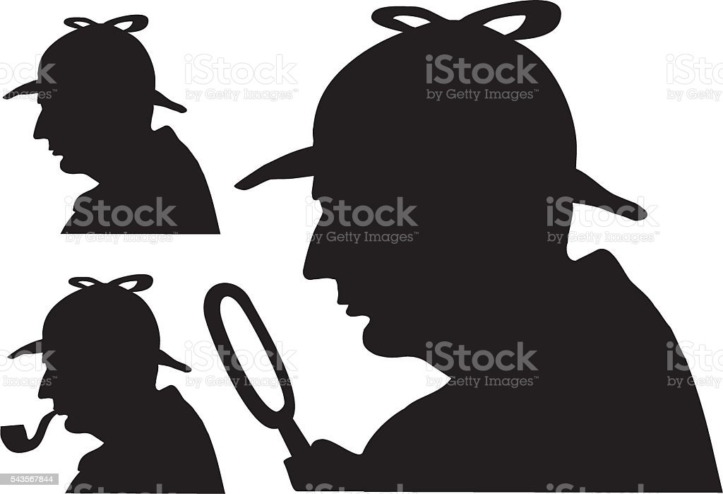 royalty free sherlock holmes clip art vector images illustrations rh istockphoto com pictures of sherlock holmes clipart sherlock holmes clipart free download