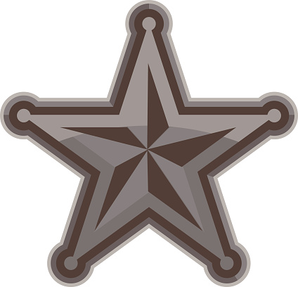 Sherrif Star Badge