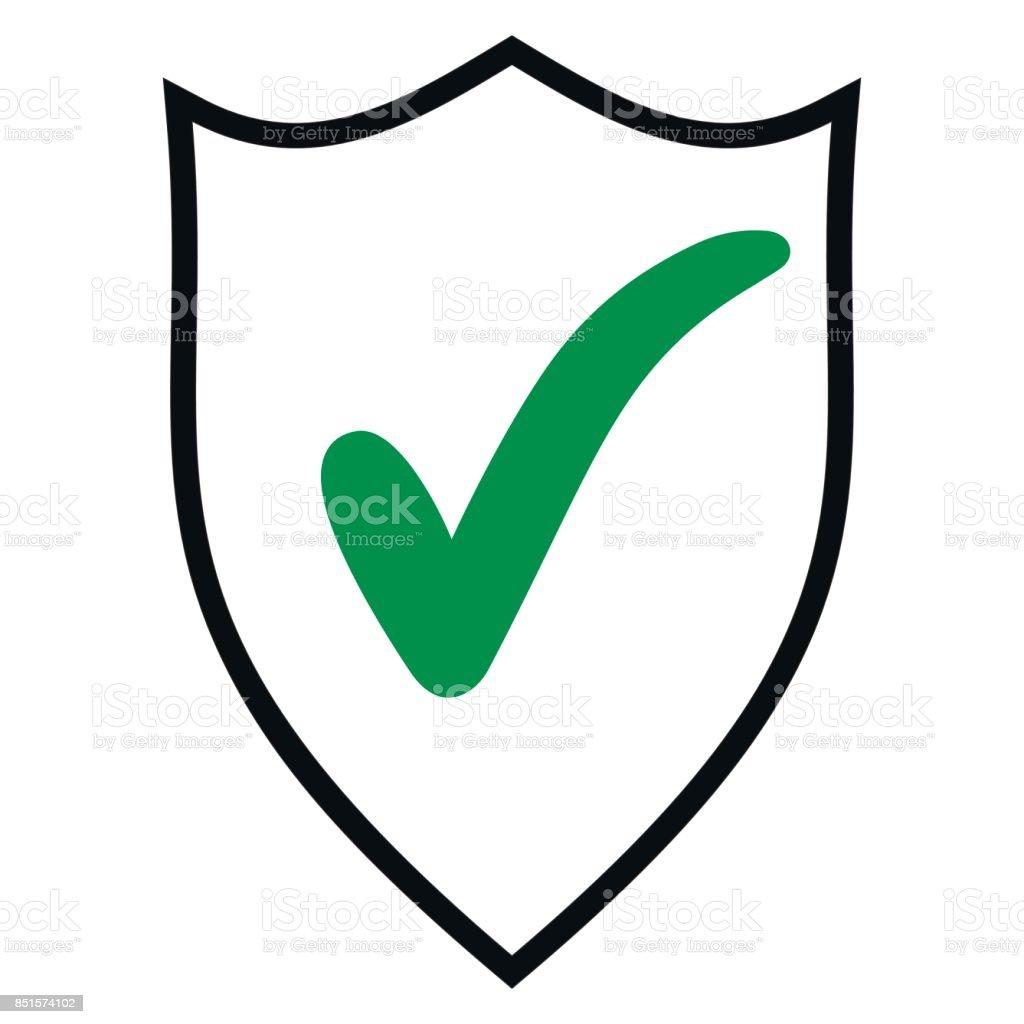 Shield check mark emblem icon design template elements stock vector shield check mark emblem icon design template elements royalty free shield check mark emblem icon maxwellsz