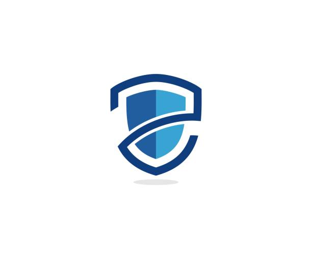 shield icon - insurance stock illustrations
