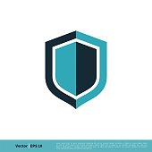 istock Shield Icon Vector Logo Template Illustration Design. Vector EPS 10. 1254162675