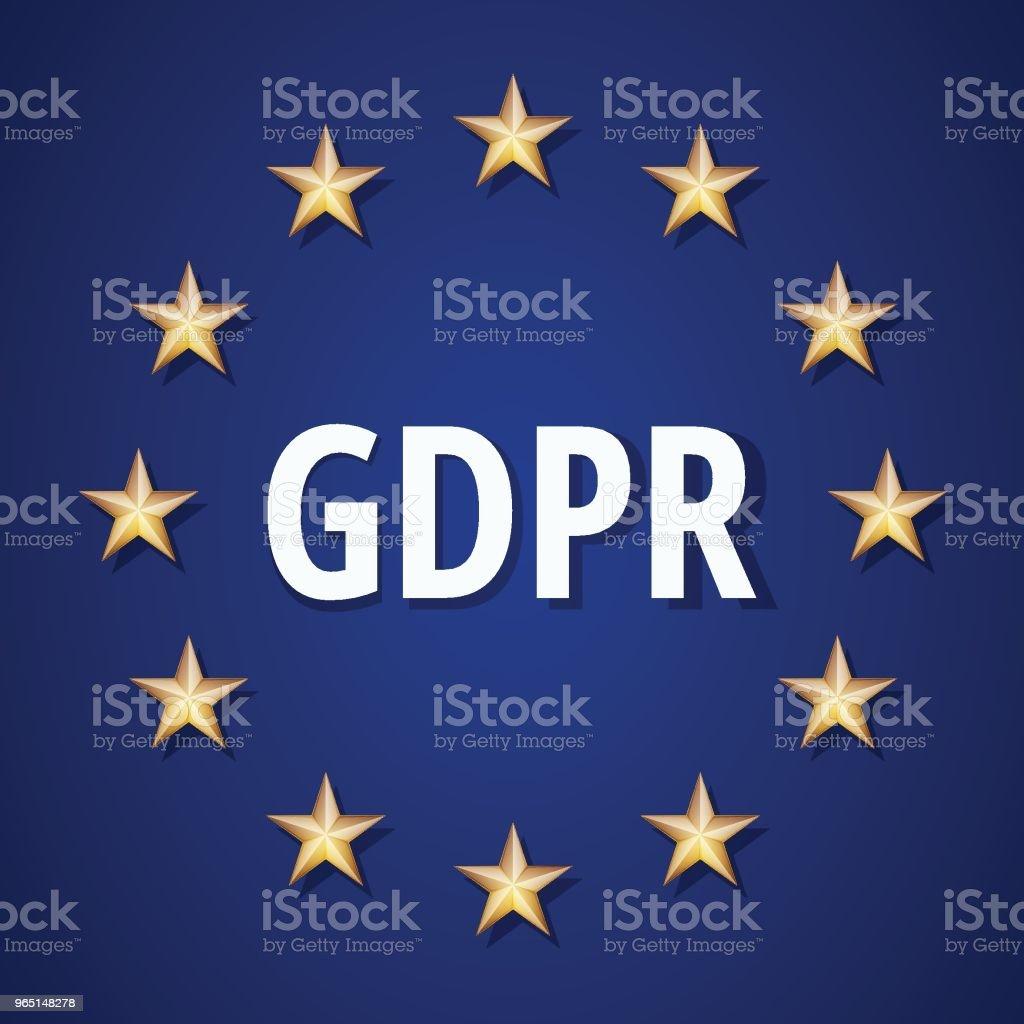 EU GDPR shield label illustration eu gdpr shield label illustration - stockowe grafiki wektorowe i więcej obrazów bezpieczeństwo royalty-free