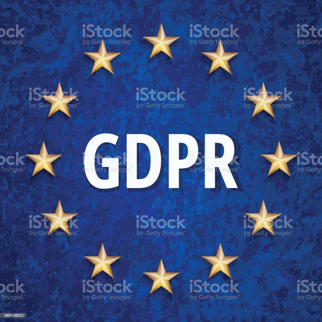 EU GDPR shield label illustration royalty-free eu gdpr shield label illustration stock vector art & more images of accessibility