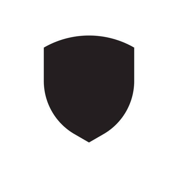 Shield Logo symbol vector art illustration