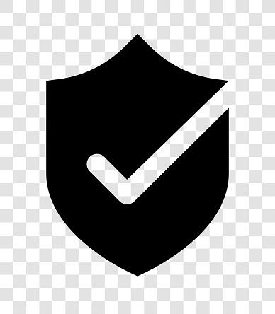 shield OK black